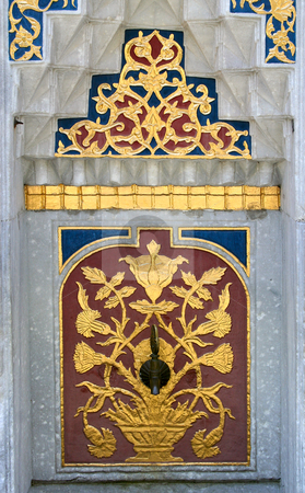 Fountain in Istanbul, Turkey stock photo, Fountain in Istanbul, Topkapi palace, Turkey by Mirumur