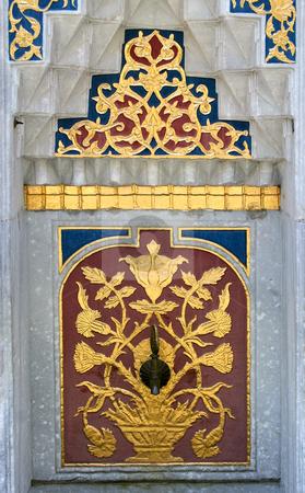 Fountain in Istanbul, Turkey stock photo, Fountain in Istanbul, Topkapi palace, Turkey by Mirumur