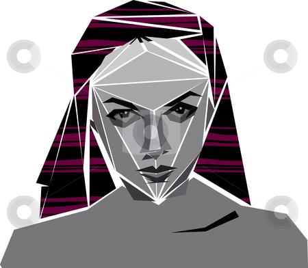 Angular girl stock photo, angular girl by William Park