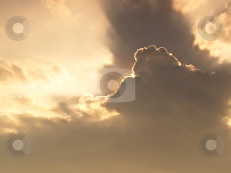 Golden Sun Lay  stock photo, Golden Sun Lay by Ratina Thongteeka