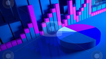 Business graphics and Forex indicators stock photo, business graphics and Forex indicators by animix