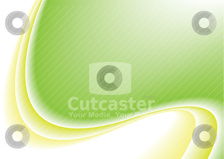Natural flap curve stock vector clipart, Subtle natural background with flowing lines and copy space by Michael Travers