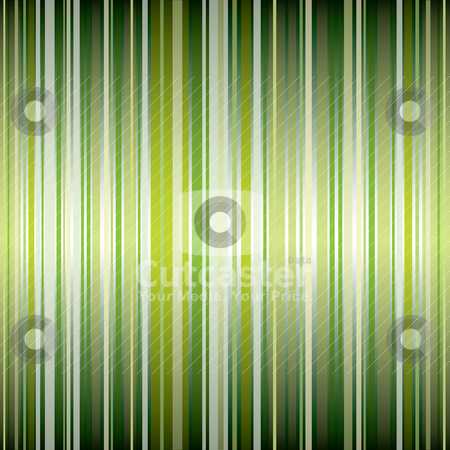Stripe gradient green stock vector clipart, Shades of green abstract background with stripes and lines by Michael Travers