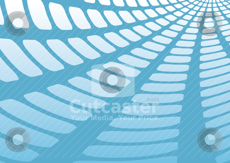 Mesh shadow angle stock vector clipart, Blue and white abstract background with mesh light shadow by Michael Travers