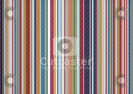 Candy vert stock vector clipart, Candy vert striped background with a rainbow of colours by Michael Travers