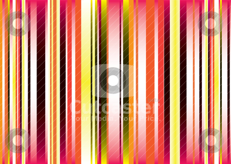 Golden vert stripe stock vector clipart, Brightly colored abstract background with fluid colours and vert stripes by Michael Travers