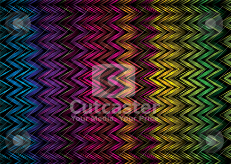 Vert zig zag stock vector clipart, Abstract rainbow background with zig zag lines ideal desktop by Michael Travers