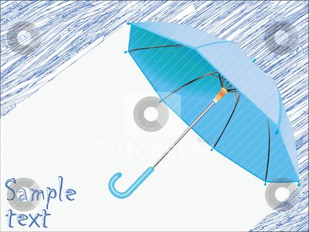 Raining concept stock vector clipart, raining concept by Laschon Robert Paul