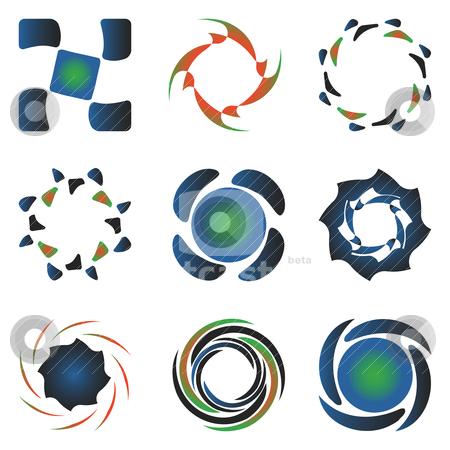Various design elements collection stock vector clipart, various design elements collection by Laschon Robert Paul