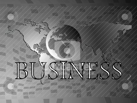 Business world stock vector clipart, business world by Laschon Robert Paul