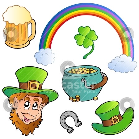 St Patricks day collection 3 stock vector clipart, St Patricks day collection 3 - vector illustration. by Klara Viskova