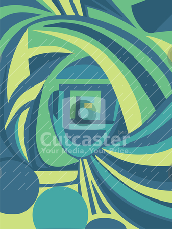 Abstract spiral background stock vector clipart, vector abstract spiral background illustration by SelenaMay