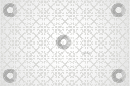 Pattern4 stock vector clipart, Abstract background in the form of a pattern from decorative elements by Mikhail Puhachou