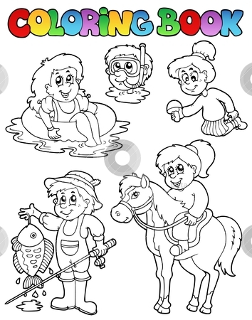 coloring book with kids activities - Coloring Book For Children