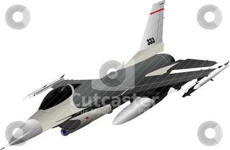 Air force team. Vector illustration stock vector clipart, Air force team. Vector illustration by Leonid Dorfman
