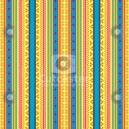 Ukrainian pattern stock vector clipart, Ukrainian ethnic seamless pattern, graphic illustration by Richard Laschon