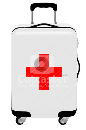 First Aid illustration stock vector clipart, Vector First Aid  by sermax55