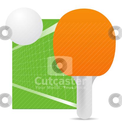 Ping pong  stock vector clipart, ping pong  by sermax55