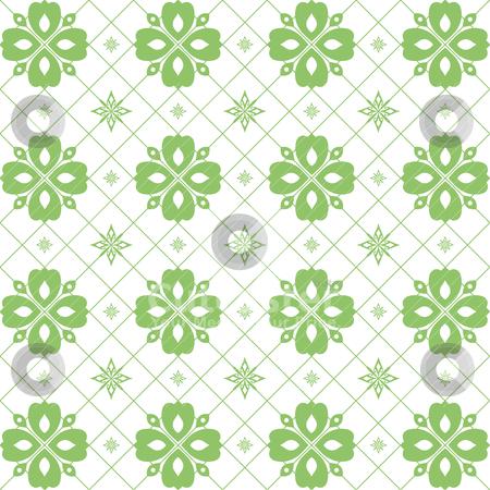 Seamless floral pattern  stock vector clipart, Abstract background of seamless floral pattern   by Ingvar Bjork