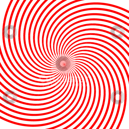 Red vortex illustration stock vector clipart, Abstract vector red vortex illustration Background by olinchuk