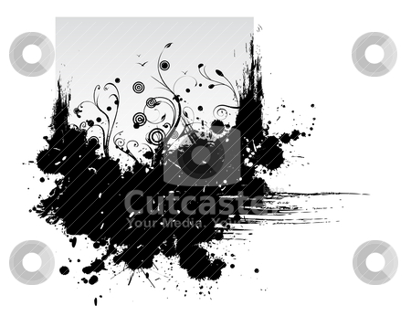 Grunge background stock vector clipart, Grunge background by zabiamedve
