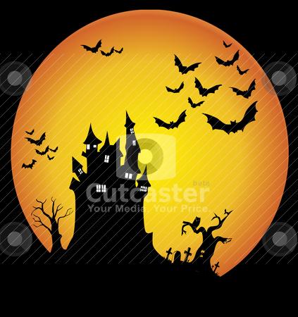 Halloween night stock vector clipart, Halloween night  by zabiamedve