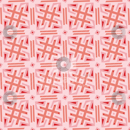 Seamless Pounds Pattern stock vector clipart, Seamless pattern background of pound and equal symbols by Eric Basir