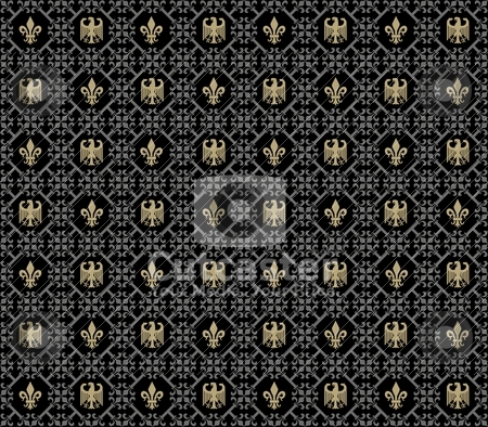 Pattern stock vector clipart, Abstract background in the form of a pattern from decorative elements by Mikhail Puhachou